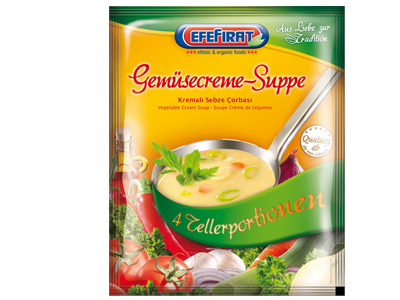 Creamed Vegetable Soup