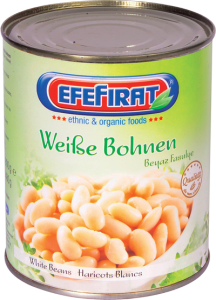 Boiled White Beans in Brine